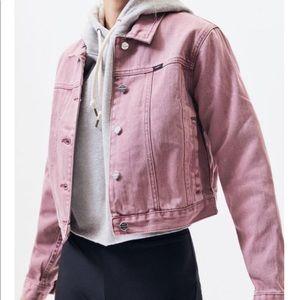 Obey Cropped Denim Jacket